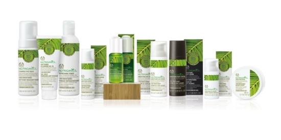 The Body Shop Nutriganics Complete Range