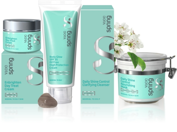 VLCC Spring Colletion Normal to Oily Skin