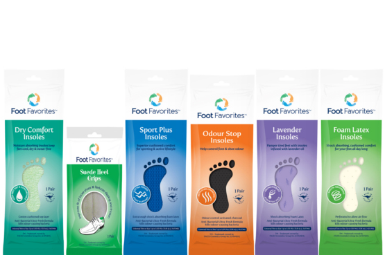 Foot Favorites Range