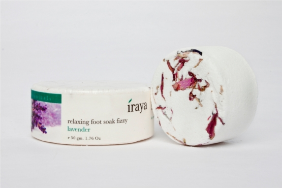 Iraya Foot Soak Fizzy LAvender