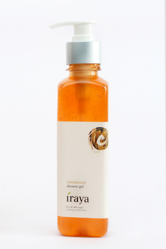 Iraya Sandalwood Shower Gel