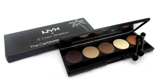 NYX 5 Palette Eye Shadow