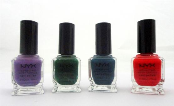 NYX Nail Colors
