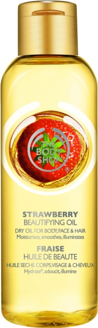 The Body Shop Beautifying Oil - Strawberry Oil