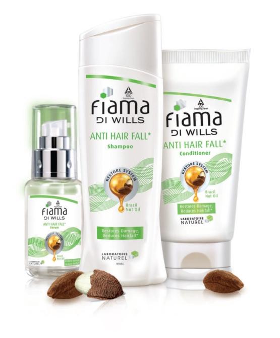The Fiama Di Wills Anti Hair Fall Range