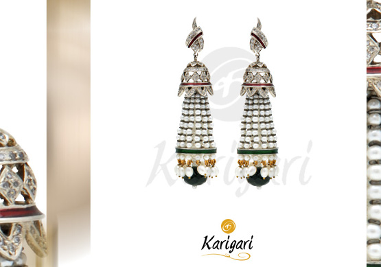 Karigari Ear Rings Design 1