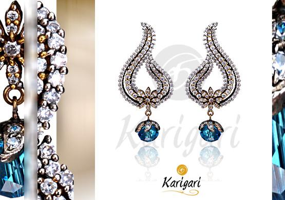 Karigari Ear Rings Design 3