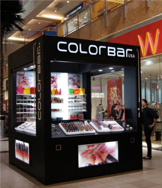 Colorbar Makeup Kiosk