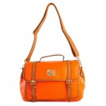 Lavie Orange Synthetic Leather Shoulder Bag Price Rs 2740