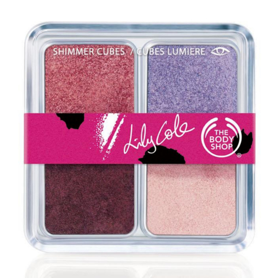 Lily Cole Limited-Edition Shimmer Cubes, Rs 1495