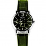 Lucky Luchiano Green Round Dial Chronograph Watch Price Rs 1099
