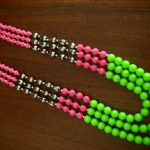 Necklace Collection - All Things Neon - Mansi Choksi - Design #10