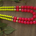 Necklace Collection - All Things Neon - Mansi Choksi - Design #2
