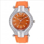 Q&Q Attractive Orange Round Dial Watch Price Rs 1145