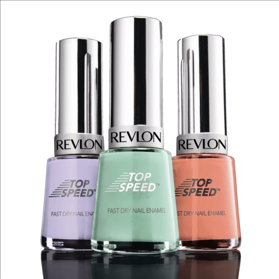 Revlon Top Speed Nail Enamel - Review & Swatches