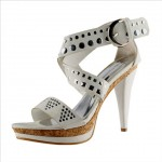 Salt 'n' Pepper Arzo White Ankle Pump Toes Price Rs 1895