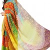 Saree Design Word Manthan - Pallu Flowing