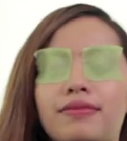 DIY Cucumber Eye Pads