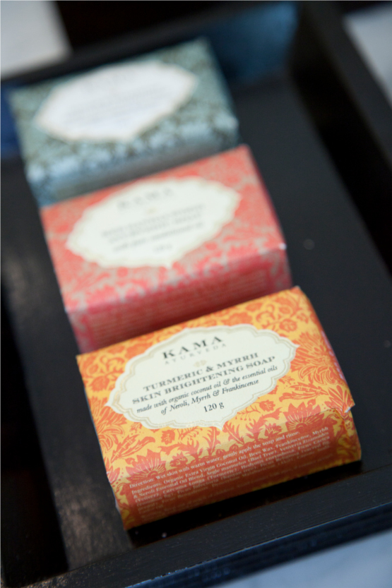 Kama Ayurveda New Handmade Soap Range