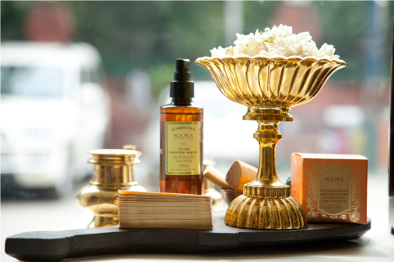 Kama Ayurveda Store Decoration