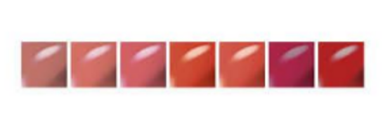 MAC Lipglass Swatches