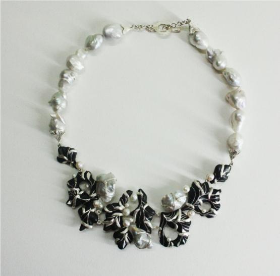 Bidri Necklace