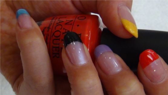 Nail Art for Beginners - Neon Nails