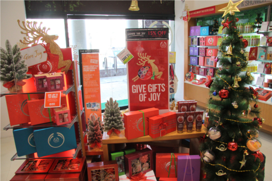 Christmas and New Year Gifting Ideas From The Body Shop