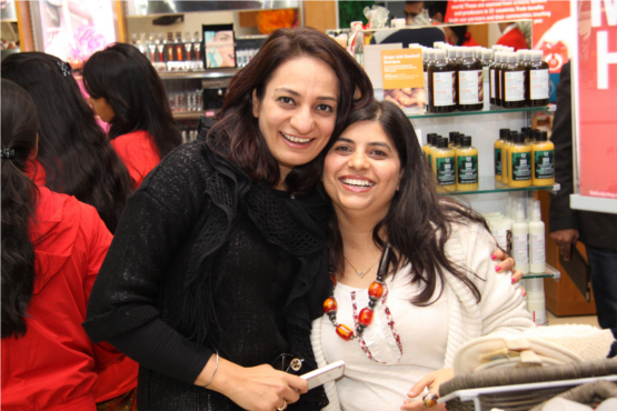 Harmeet Singh with Savita Dhami Head Marketing The Body Shop