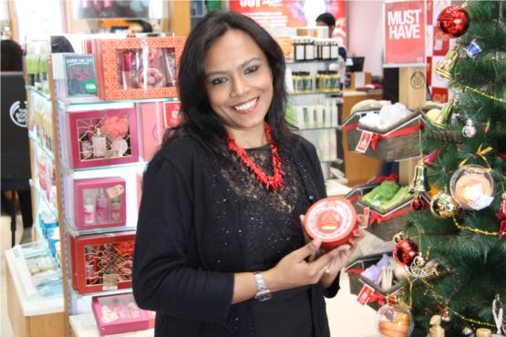 Sanchita Das, National Training Manager at The Body Shop