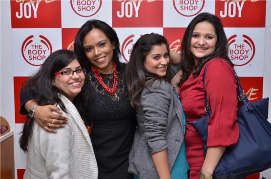 Savita Dhami Head Marketing ,Sanchita Das -National Training Manager,Nikita Sharma -Makeup Expert,Aastha Sharma - Marketing I Values