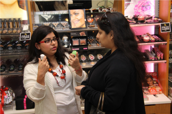 Savita Dhami Head Marketing The Body Shop Christmas Event