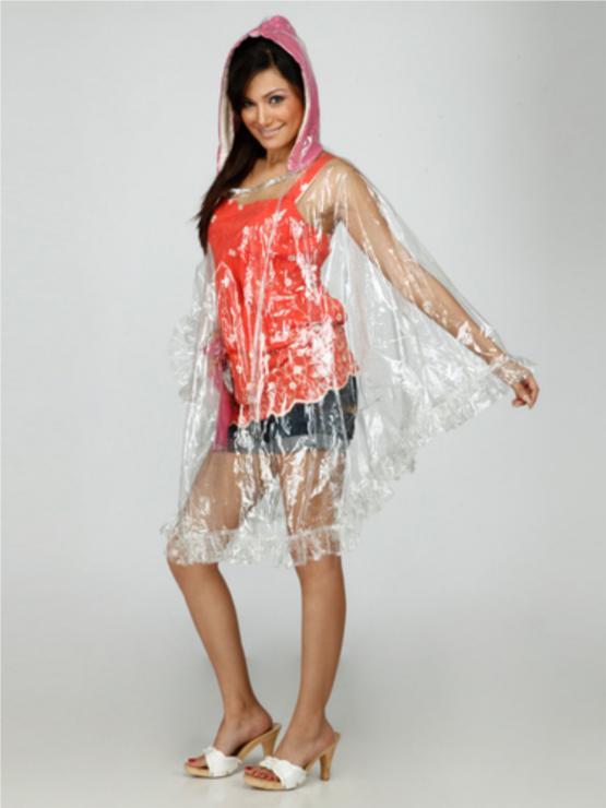 Fashion Tip Rainwear Transparent Raincoat