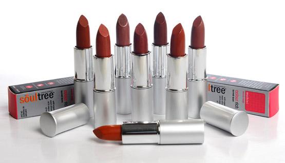 Organic Makeup SoulTree Organic Lipstick