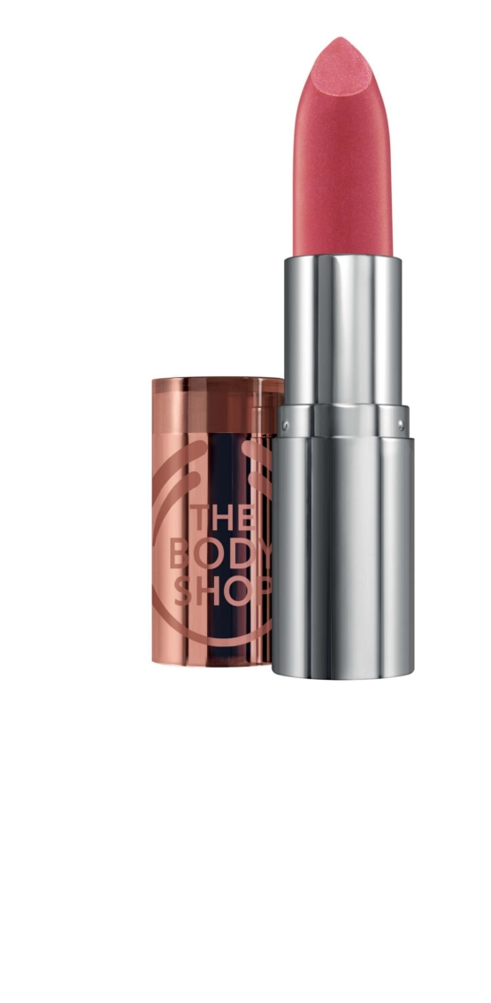 The Body Shop Colour Crush Pearlised Lipstick Berry in Love