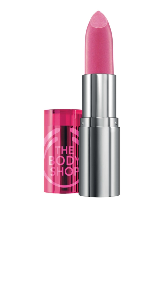 The Body Shop Colour Crush Pearlised Lipstick Rush of Pink