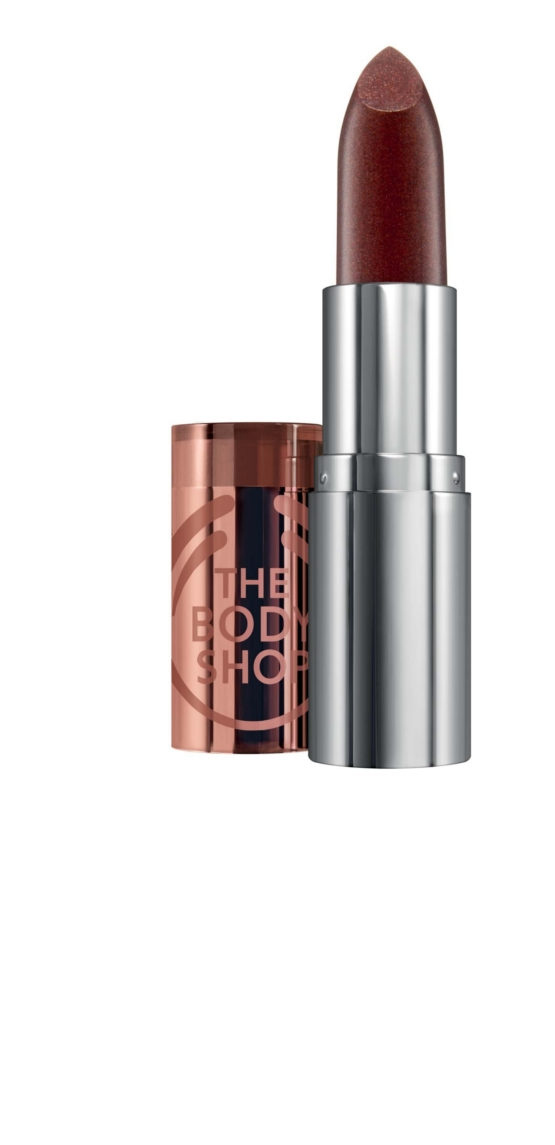 The Body Shop Colour Crush Sparkly Lipstick Bullets Drive me Nuts