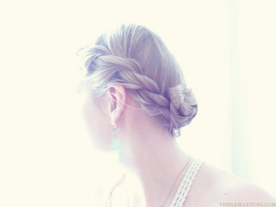 Boho Twist Hairstyle