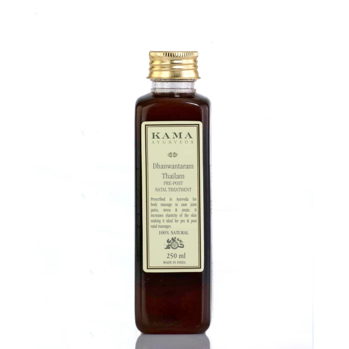 Kama Ayurveda Dhanwantaram Thailam for Pre and Post Natal Treatment
