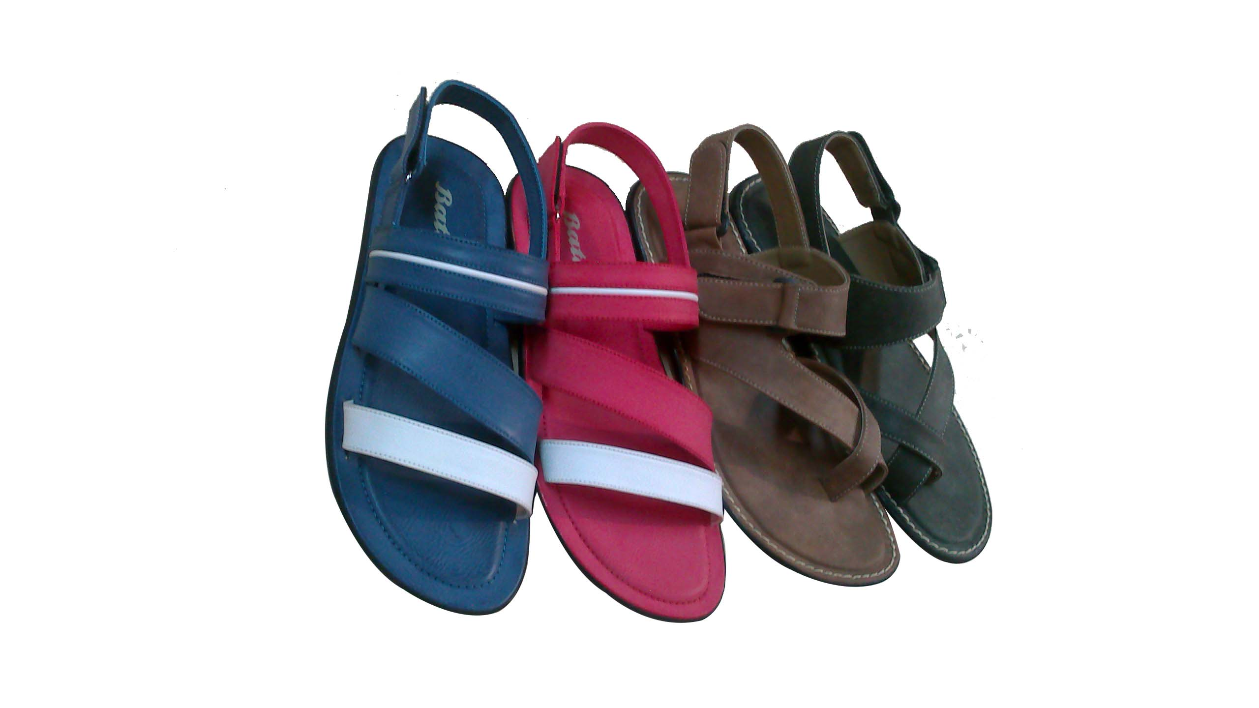 Sandals in Vibrant Colors