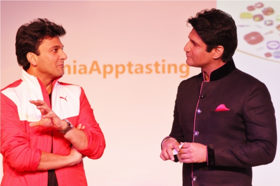 Chef Vikas Khanna Emphasizes a Point