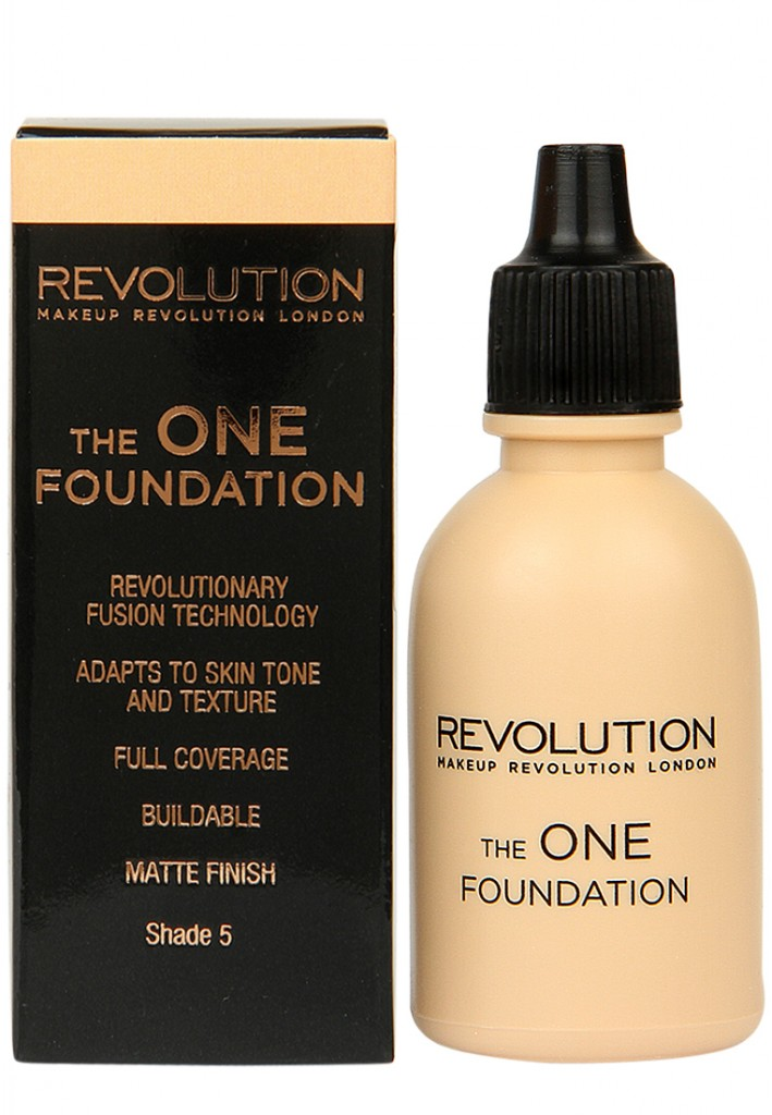 Makeup Revolutions London Shade 5 The One Foundation